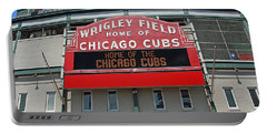 0601 Wrigley Field Portable Battery Charger