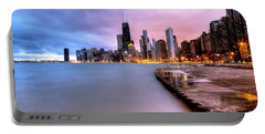 0865 Chicago Sunrise Portable Battery Charger