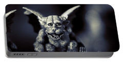 Evil Gargoyle Statue Portable Battery Charger