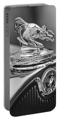 1931 American Austin Roadster Hood Ornament Portable Battery Charger