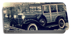 1931 Type 150-b Ford Portable Battery Charger by Carlos Avila