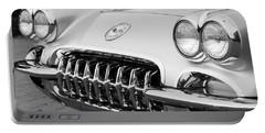 1960 Chevrolet Corvette Grille Portable Battery Charger
