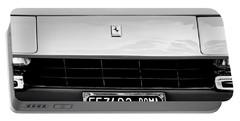 1972 Ferrari 365 Gtb -4a Grille Emblem Portable Battery Charger