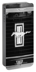 1972 Ford Mustang Boss 302 Grille Emblem Portable Battery Charger
