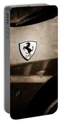 2007 Ferrari F430 Spider F1 Emblem Portable Battery Charger