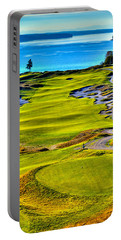 #5 At Chambers Bay Golf Course - Location Of The 2015 U.s. Open Tournament Portable Battery Charger by David Patterson