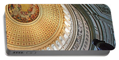 Portable Battery Charger featuring the photograph A Capitol Rotunda by Cora Wandel