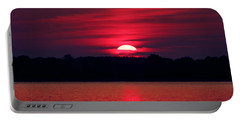 A Chesapeake Bay Sunrise Portable Battery Charger