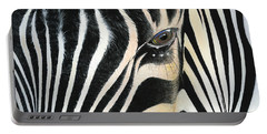 Portable Battery Charger featuring the painting A Moment's Reflection by Mike Brown