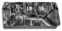 Abandoned Steam Plant Portable Battery Charger