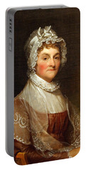 Portable Battery Charger featuring the photograph Abigail Smith Adams By Gilbert Stuart by Cora Wandel