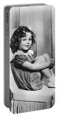 Actress Shirley Temple Portable Battery Charger by Underwood Archives