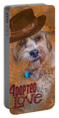 Adopted With Love Portable Battery Charger