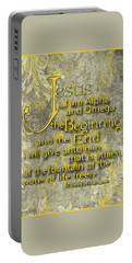Portable Battery Charger featuring the photograph Alpha And Omega by Larry Bishop