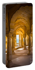 Amber Fort Arches Portable Battery Charger