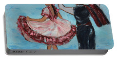 Argentinian Folk Dance Portable Battery Charger by Xueling Zou