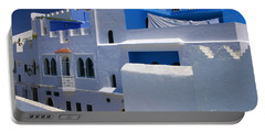 Portable Battery Charger featuring the photograph Asilah Meaning Authentic In Arabic Fortified Town On Northwest Tip Of Atlantic Coast Of Morocco by Ralph A  Ledergerber-Photography