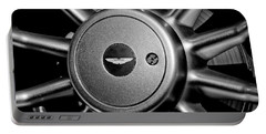 Aston Martin Db7 Wheel Emblem Portable Battery Charger