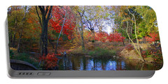 Autumn By The Creek Portable Battery Charger