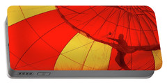Portable Battery Charger featuring the photograph Balloon Fantasy 2 by Allen Beatty