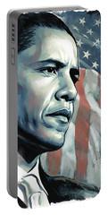 Barack Obama Artwork 2 Portable Battery Charger