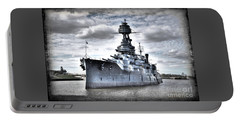 Battleship Texas Portable Battery Charger