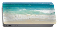 Portable Battery Charger featuring the photograph Beach Love by Sharon Mau