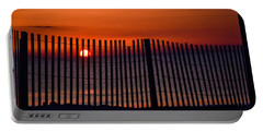 Beach Sunrise Portable Battery Charger