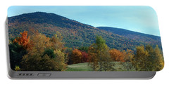Portable Battery Charger featuring the photograph Belknap Mountain by Mim White