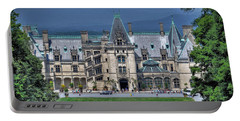 Biltmore House Portable Battery Charger by Savannah Gibbs