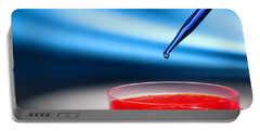 Biotechnology Experiment In Science Research Lab Portable Battery Charger