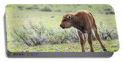 Bison Calf Portable Battery Charger
