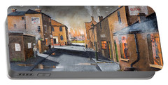 Black Country Village From The Boat Yard Portable Battery Charger