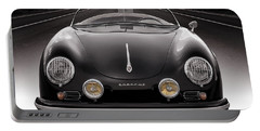 Black Porsche Speedster Portable Battery Charger
