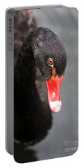Black Swan Portable Battery Charger by Jorgo Photography - Wall Art Gallery