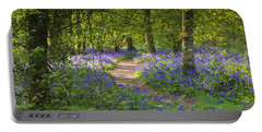 Bluebell Woods Walk Portable Battery Charger