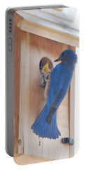 Bluebird Of Happiness Portable Battery Charger