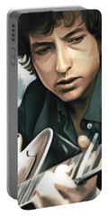 Bob Dylan Artwork Portable Battery Charger
