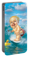 Born To Surf Portable Battery Charger