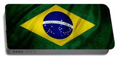 Brazilian Flag Portable Battery Charger
