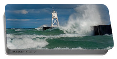 Break Wall Waves Portable Battery Charger