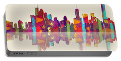 Brisbane Australia Skyline Portable Battery Charger