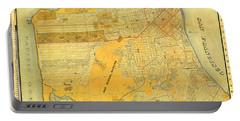 Britton And Reys Guide Map Of The City Of San Francisco. 1887. Portable Battery Charger