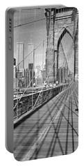 Brooklyn Bridge Manhattan New York City Portable Battery Charger