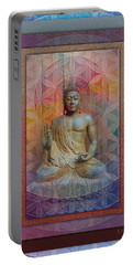 Buddha Portable Battery Charger by Richard Laeton