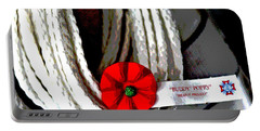 Buddy Poppy Portable Battery Charger