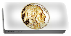 Buffalo Nickel Portable Battery Charger