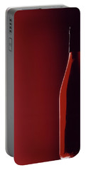 Burgundy Portable Battery Charger