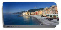 Portable Battery Charger featuring the photograph Camogli - Italy by Antonio Scarpi