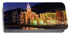 Camogli At Evening Portable Battery Charger